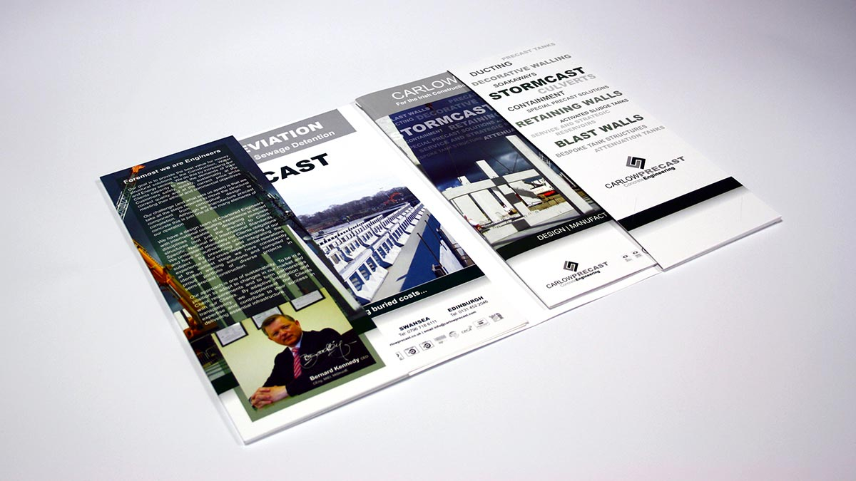 Brochure With Business Card Slot | Arts - Arts